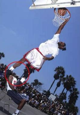 Basketteur sans tête