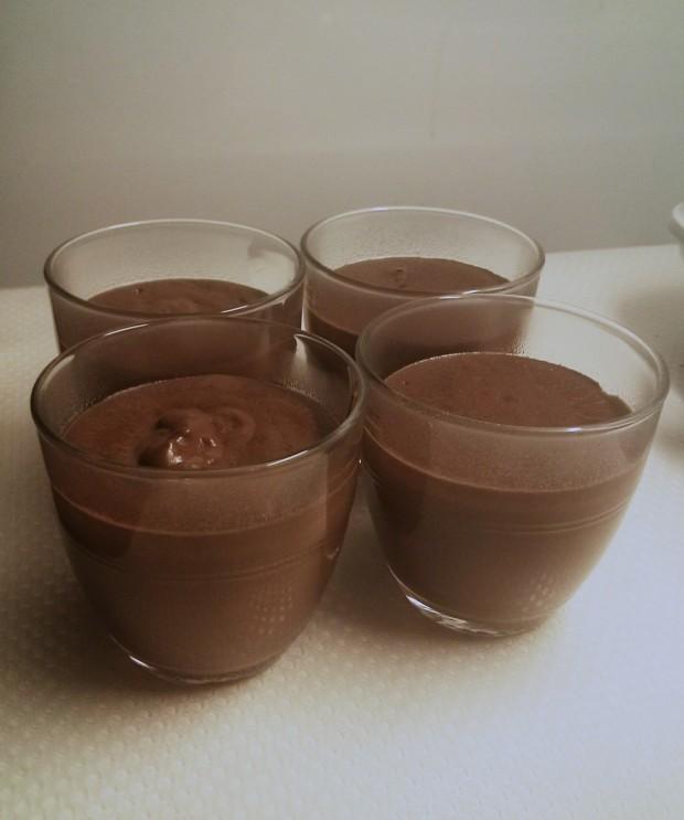 Recette  crèmes au chocolat sans gluten et sans lactose (1)